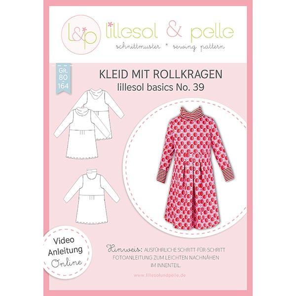 Vestido con cuello de tortuga, Lillesol & Pelle No. 39   80 - 164 ...