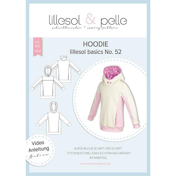 Schnittvorlage für Hoodies von lillesol & pelle
