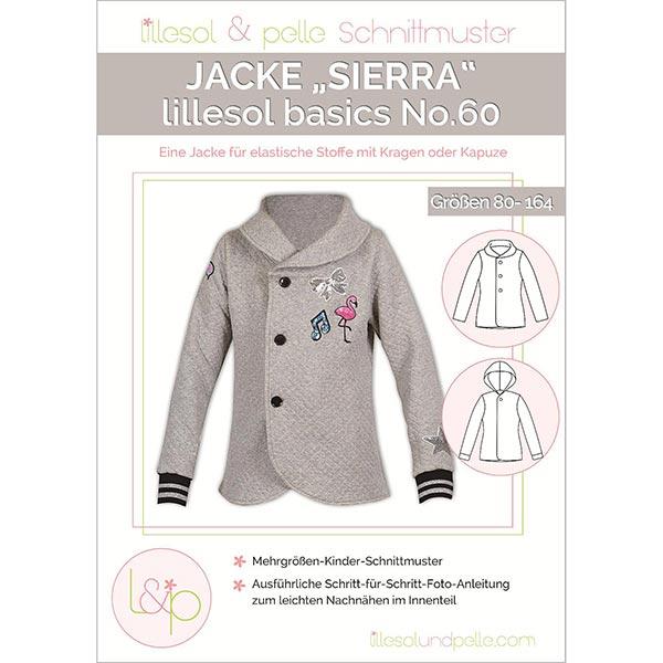 Jacke Sierra, Lillesol & Pelle No. 60   80 - 164 - Schnittmuster ...