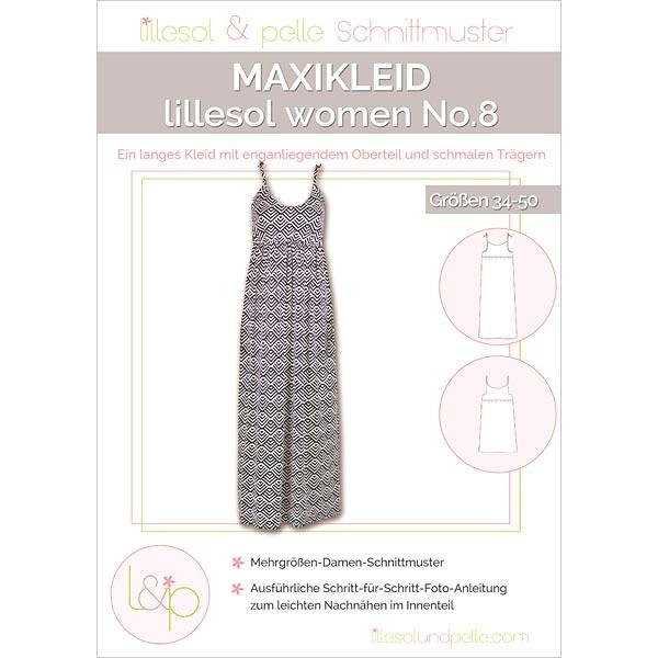 Maxikleid, Lillesol & Pelle No. 8   34 - 50 - Schnittmuster Kleid ...