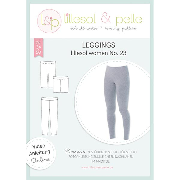 Leggings, Lillesol & Pelle No. 23 | 34 - 50 - Patrón de corte ...