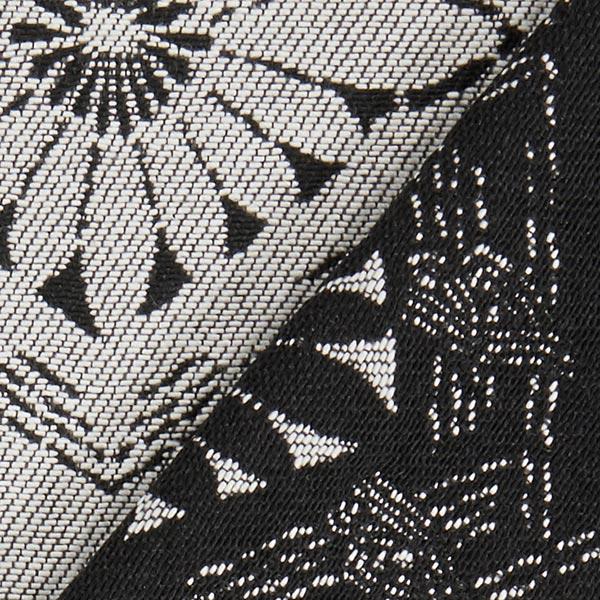 jacquard blumenrauten schwarz weiss jacquardstoffe. Black Bedroom Furniture Sets. Home Design Ideas