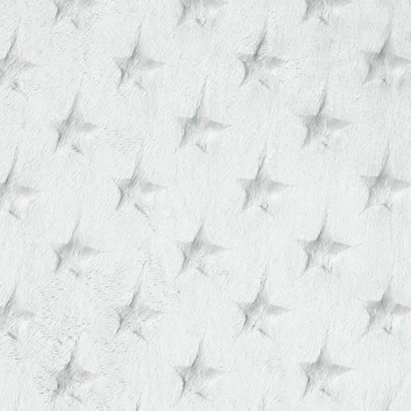 fa0c9965d008 aggiungi al tavolo dei tessuti. pile strisce – Stelline – grigio chiaro