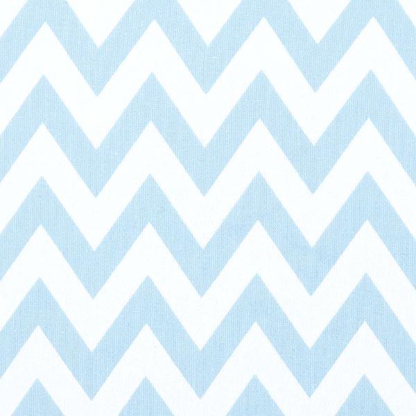 Classic Chevron - babyblau - Muster