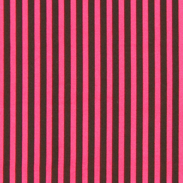 tissu ray rose vif marron tissus en coton. Black Bedroom Furniture Sets. Home Design Ideas