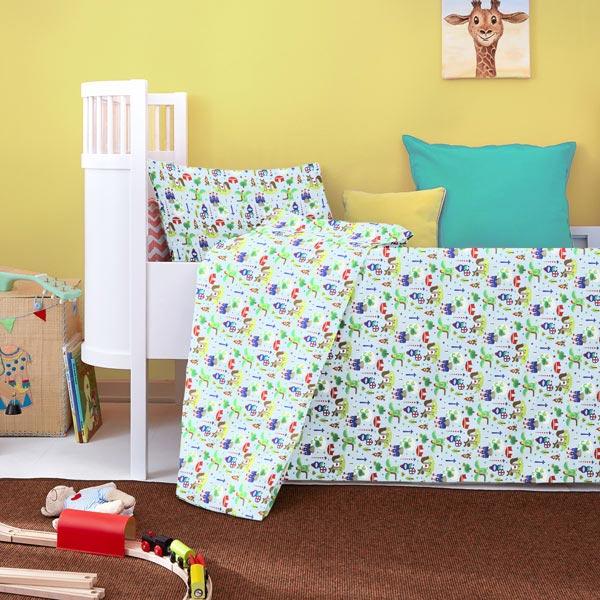 Kit couture linge de lit pour enfants chevaliers kits couture - Linge de lit pour enfant ...