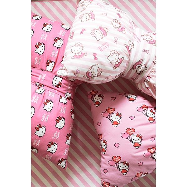 baumwollstoff hello kitty pink kinder dekostoffe. Black Bedroom Furniture Sets. Home Design Ideas
