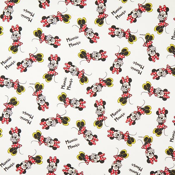 Tela decorativa Cretona Minnie Mouse – blanco lana - Cretona- telas.es