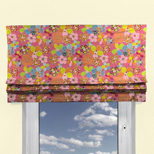 Flowerparty 1 cortinas infantiles - Tela cortinas infantiles ...