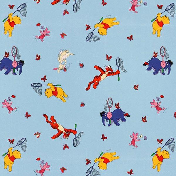winnie l ourson et amis 2 tissus pour rideaux tissus net