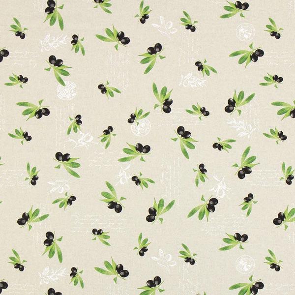 Halbpanama Olivenzweige – natur – Muster
