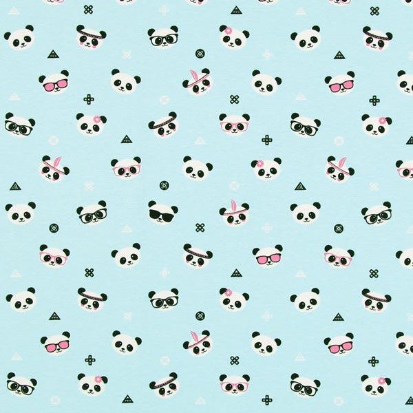 Furnishing Fabric Panda Bear Curtain Fabricsfavorable