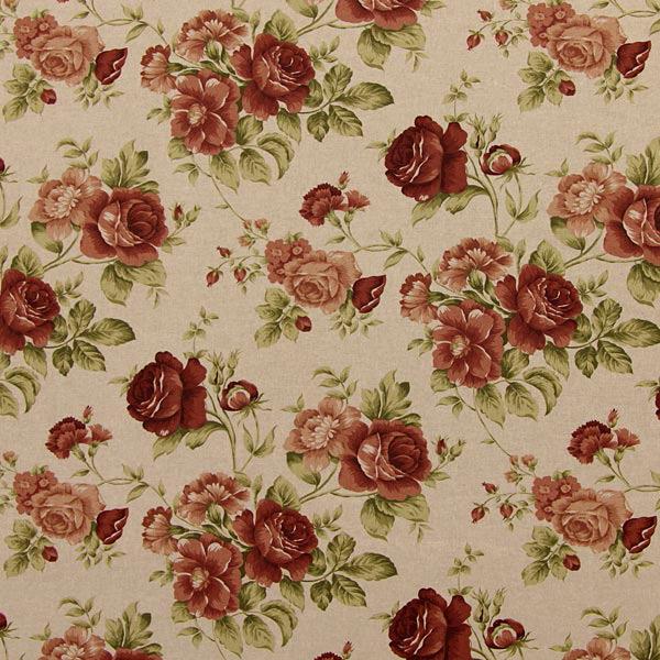 linen roses 4 dekostoffe rosen. Black Bedroom Furniture Sets. Home Design Ideas