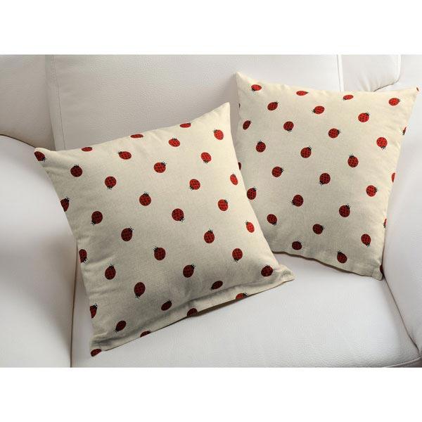 tissu de d coration nature coccinelle tissus pour rideaux. Black Bedroom Furniture Sets. Home Design Ideas