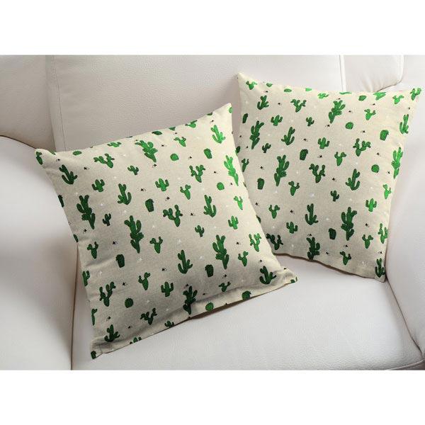 tissu de d coration nature cactus tissus pour rideaux. Black Bedroom Furniture Sets. Home Design Ideas