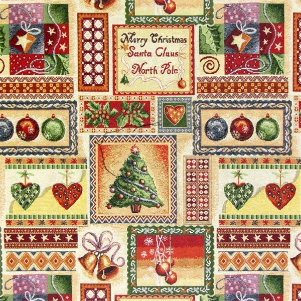 Pide ahora telas navideñas al metro a precios muy asequibles en ...