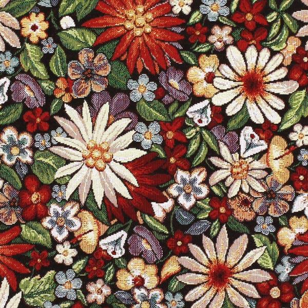 Tapiz floreado telas de tapicer a gobelin - Telas acolchadas online ...