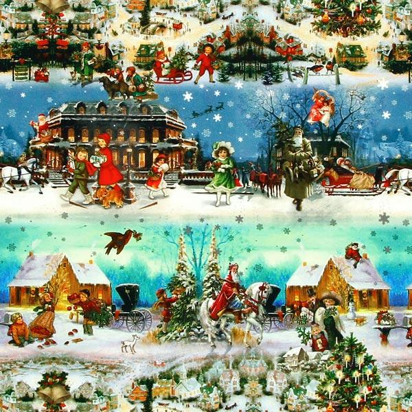 Schneegest Ber Weihnachtsstoffe