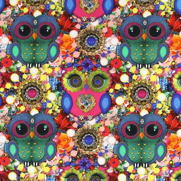 melli mello owl melli mello decorator fabricsfavorable. Black Bedroom Furniture Sets. Home Design Ideas