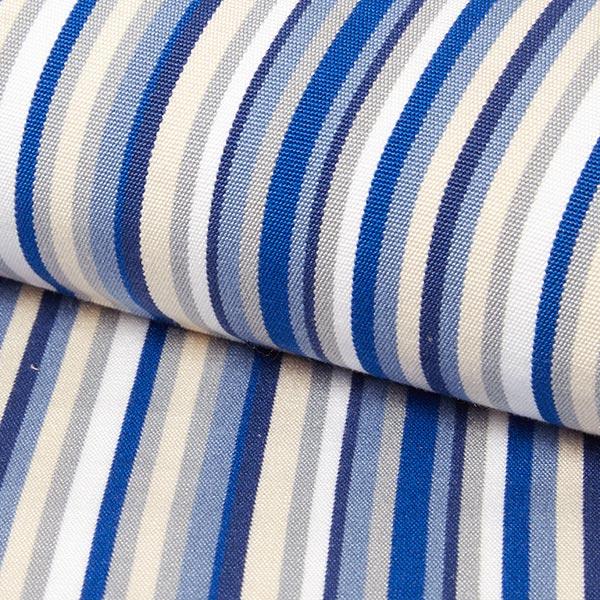 Tessuti Per Sedie A Sdraio.Tessuto Arredo Outdoor Sedia A Sdraio Righe 44 Cm Blu Tessuti