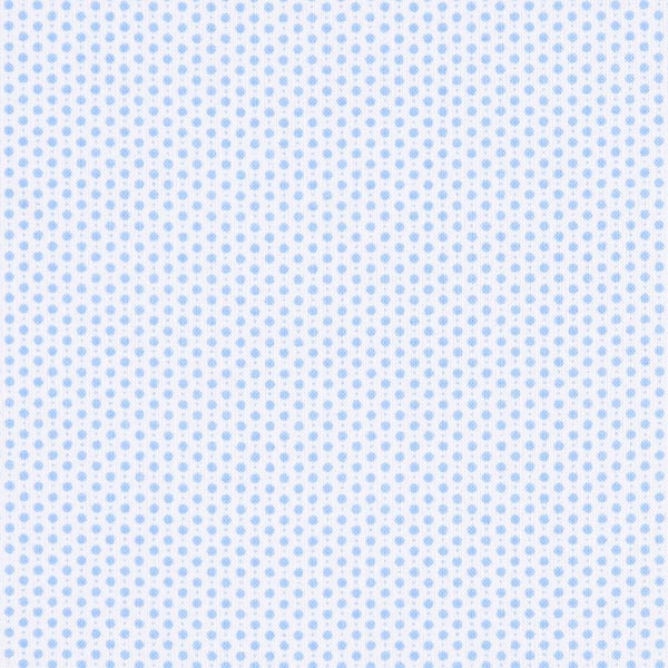 Weißer Blusenstoff mit blauen Punkten