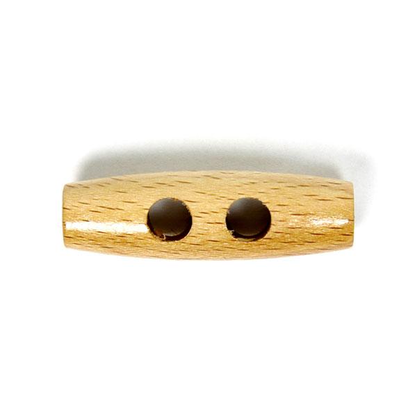 Holzknopf für Mäntel und Deko