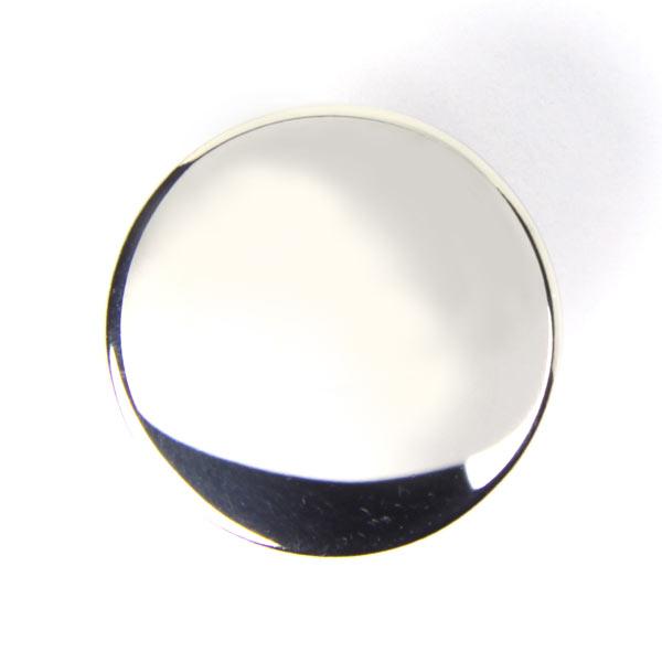 Metallknopf in Silber