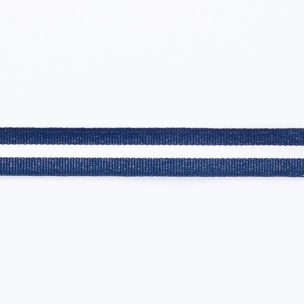 bd902736381ef nastro canneté nautical - blu navy bianco - Nastri a coste- tessuti.com