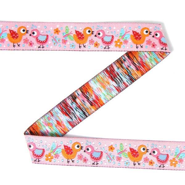 bande tiss e birds 3 tante ema rubans pour enfants motif animaux. Black Bedroom Furniture Sets. Home Design Ideas