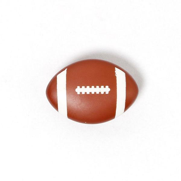 American Football als Kunststoffknopf