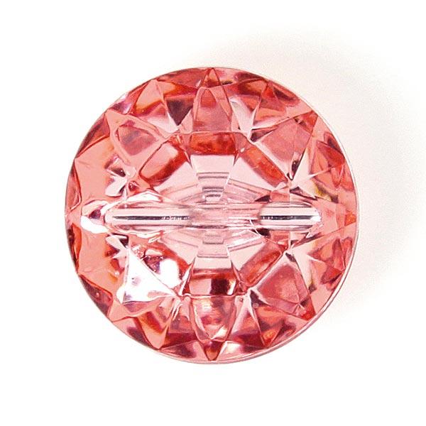 Kunststoffknopf Crystal 3