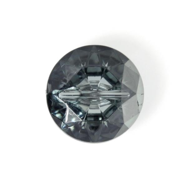 Kunststoffknopf Crystal 9