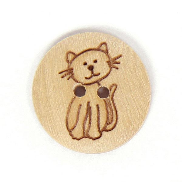 Holzknopf Little Animal 2