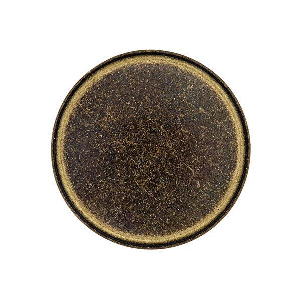 Metallknopf Öse – altgold