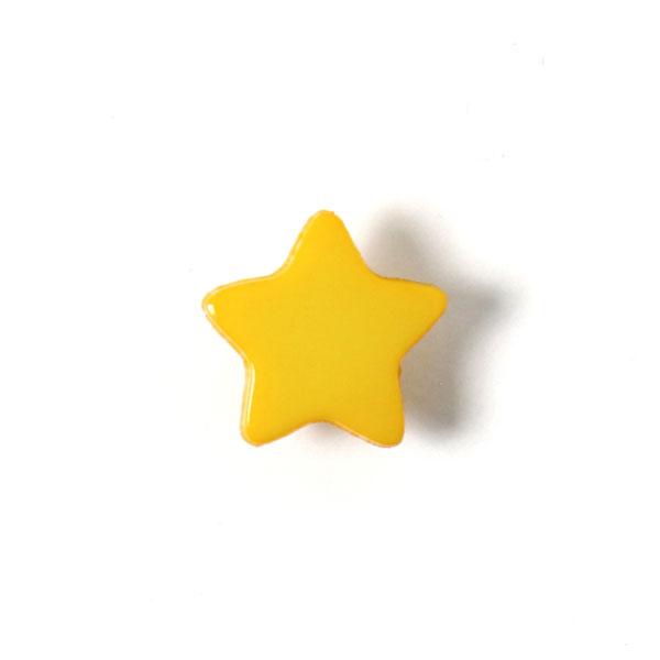 Kunststoffknopf Sternchen 3