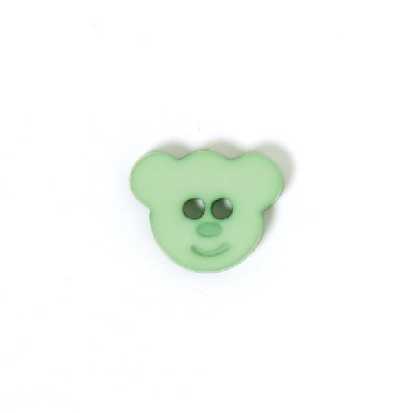 Kunststoffknopf Kleiner Bär 3