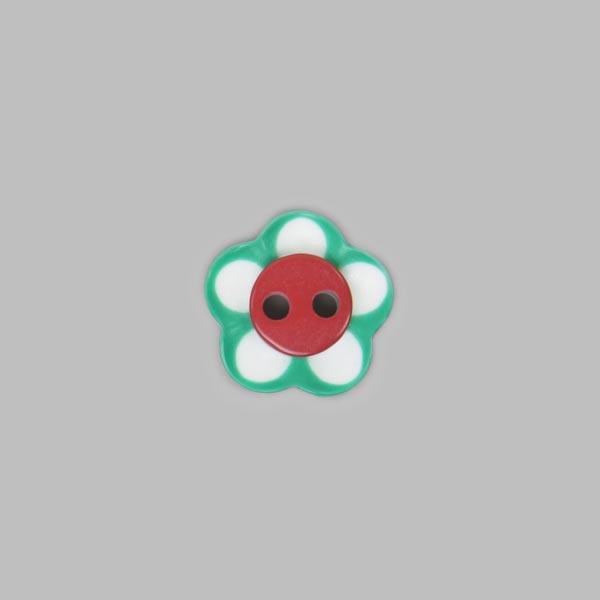 Buntes Blumenknöpfchen