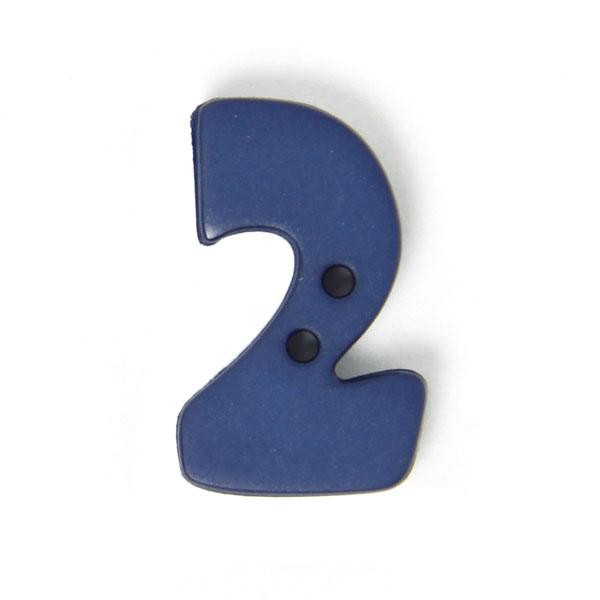 Zahlenknopf 2