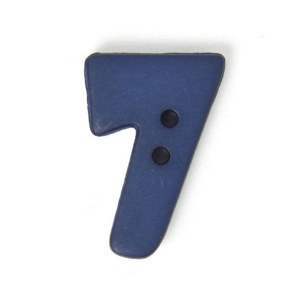 Zahlenknopf 7