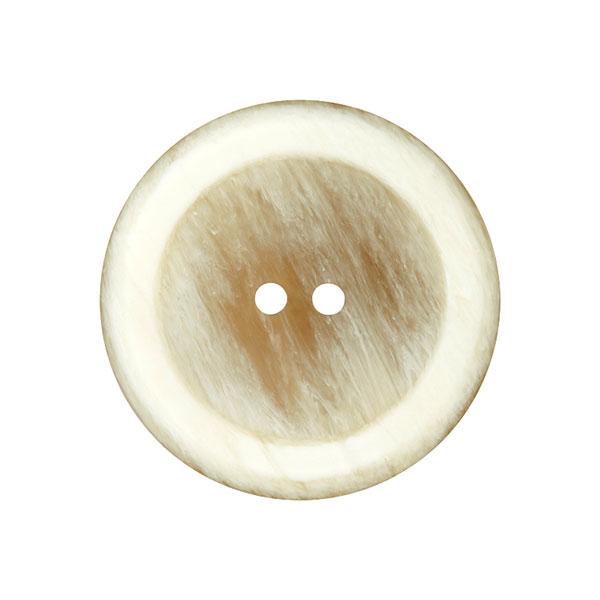 Mantelknopf - beige