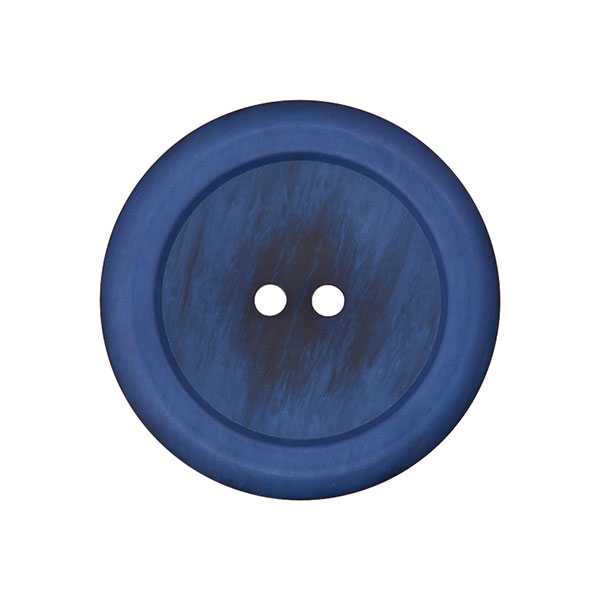 Mantelknopf - blau