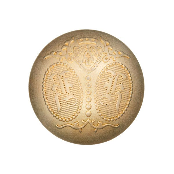Metallknopf Wappen – gold