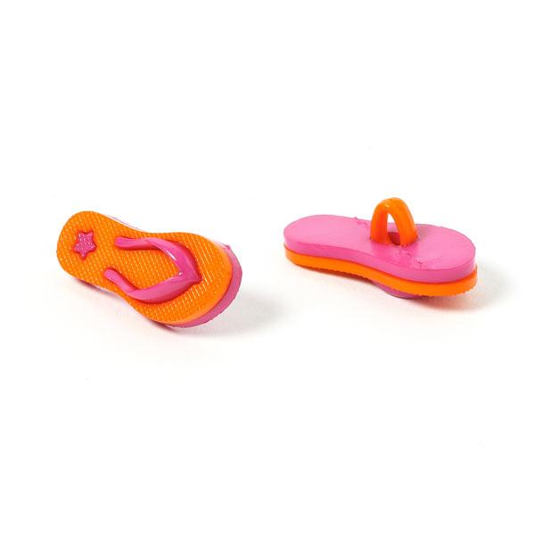 bouton en plastique chaussure de plage 5 boutons tante. Black Bedroom Furniture Sets. Home Design Ideas