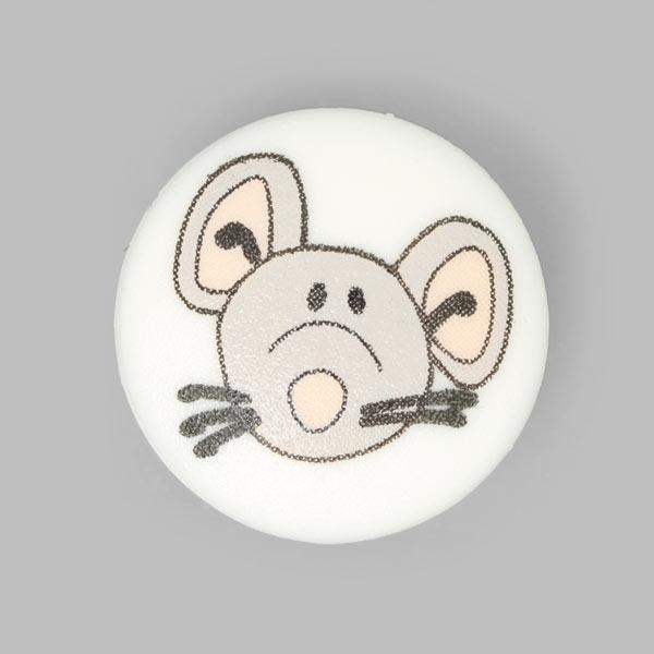 Kunststoffknopf Maus 1