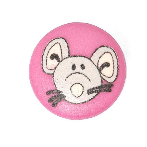 Kunststoffknopf Maus 8