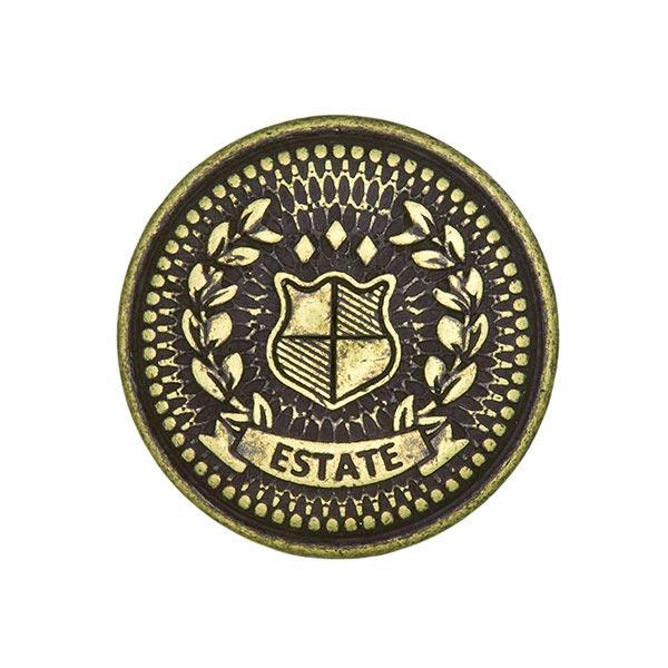 Metallknopf Wappen 4 – altgold
