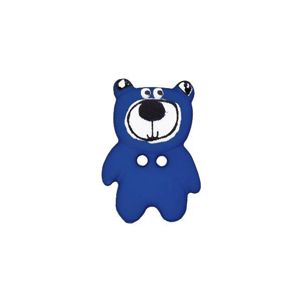 Kunststoffknopf Bär 10