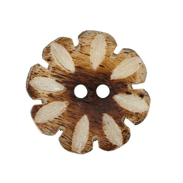 Hornknopf in Blütenform