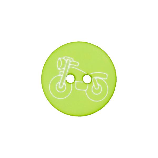 Kunststoffknopf Motorrad 2