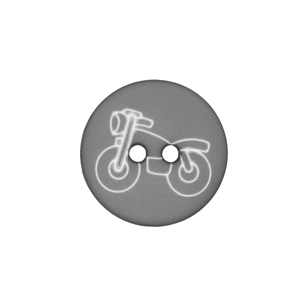 Kunststoffknopf Motorrad 10